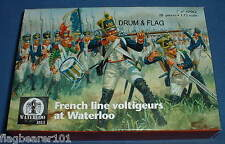 WATERLOO 1815 AP062 FRENCH LINE INFANTRY VOLTIGEURS. 1/72 SCALE. 28 FIGURES