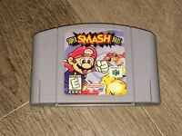 Super Smash Bros. Nintendo 64 N64 Cleaned & Tested Authentic