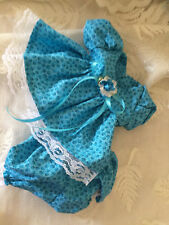 fits  MY CHILD DOLL CLOTHES ABC DRESS turquoise
