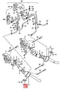 Genuine VW AUDI Touareg Q7 7P5 7P6 4LB Catalytic Converter right 7L6254450NX