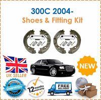 For 300C 2004- Rear Handbrake Parking Brake Shoes Set & Shoe Fitting Kit New