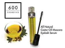 Organic Cold Pressed Castor Oil Serum For Eyelash Growth, Healthy Hair & Skin