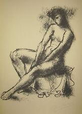 Arno Breker - weiblicher Akt - original Lithographie HANDSIGNIERT