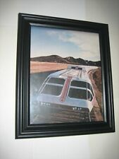 Supertrain TV Series Pin-up FRAMED # 1 Most Expensive Series