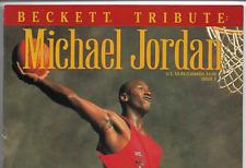 1993 Beckett Basketball Magazine Tribute to Michael Jordan #3 The Last Dance