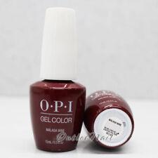 OPI GelColor GC L87 MALAGA WINE 15mL/ 0.5oz UV LED Gel Polish Wine Red Color