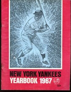 1967 New York Yankees Yearbook VGEX