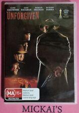 UNFORGIVEN 10th Anniversary Edition DVD Clint Eastwood Morgan Freeman PAL