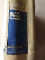 Caterpillar Nos Oem 992B Wheel Loader Service Manual. Cat Factory Service Manual