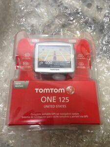 Tom Tom One 125 GPS Navigation (USA)Unit NEW Factory Sealed