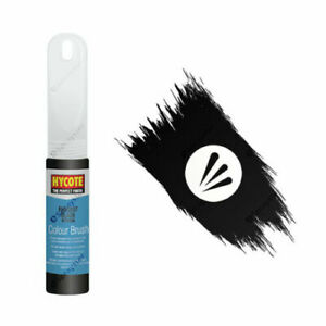 Hycote Peugeot Black Glossy Touch Up/Model Paint Brush (12.5ml) XCPE056