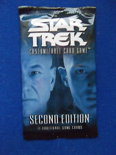 Second Edition Premiere Booster Pack Star Trek CCG card game Decipher BB 2E 2002