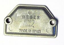 WEBER 38/40/45/48/50 DCOE TWIN CARBS - CHOKE/COLD START BLANKING PLATE