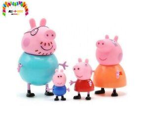 Familie Wutz   4er Spiel Figuren Set   Peppa Wutz   Peppa Pig /Kinder Geburtstag