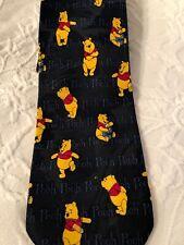 Disney Winnie the Pooh Tie Men's Fashion Neck Wear
