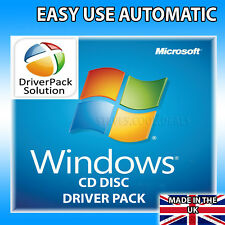PC LAPTOP NOTEBOOKS CD Driver Pack - EASY Install & Update Drivers For Windows