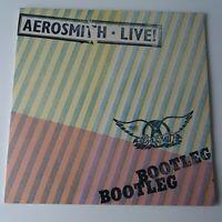 Aerosmith - Live Official Bootleg - Vinyl LP UK 1st Press 1978