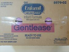 Enfamil NeuroPro Gentlease Ready-To-Use Infant Formula, 8oz 24ct, Exp 1 Feb 2021
