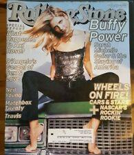 Sarah Michelle Gellar Buffy Rolling Stone May 11 2000 5/11/00 2000 Matchbox 20