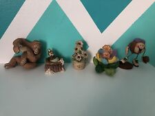 Mixed Lot of 5 porcelain, ceraminc, etc FIGURINES, various poses and sizes