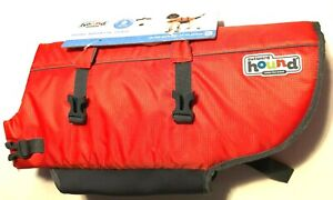 Outward Hound Pup Saver Ripstop Dog Orange Splash Life Jacket Fit XL New