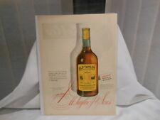 OLD TAYLOR WHISKEY  11X14 ADVERTISING PRINT AD
