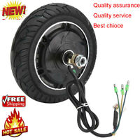 8inch Electric Scooter Brushless Wheel Hub Motor with Tyre Motor Vehicle Durable