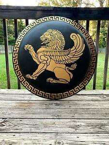 Medieval Authentic Greek Hoplite Shield/ Viking Shield/Roman Shield