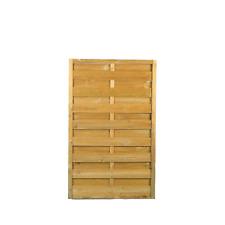 Pannello grigliato frangivento in legno naturale da giardino 180 x 90 recinzione