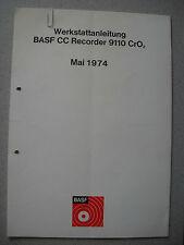 BASF 9110 Cassetten Deck Service Manual