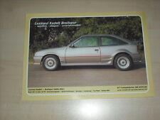 60936) Opel Kadett Breitspur Lexmaul Prospekt 198?