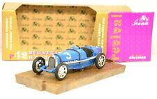 R42 modellino auto BRUMM 1/43 1933 BUGATTI tipo 59 #3 biposto diecast