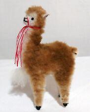Felltier Kuscheltier Alpaka Figur 13-14 cm Anden Dekoration Lama Peru,Schafwolle