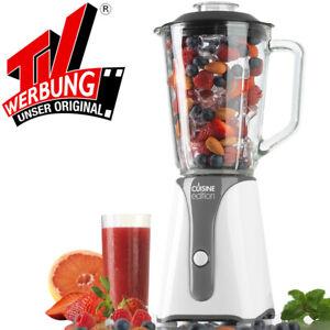 Standmixer Glas Smoothie Maker Milchshaker Stand Mixer Ice Crusher Glaskrug NEU
