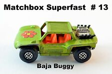 Matchbox Superfast  # 13 Baja Buggy