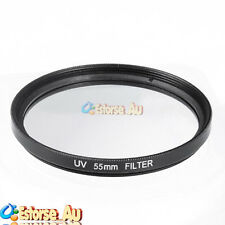 55mm UV Ultra-Violet Filter Lens Protector For Canon Nikon Pentax Olympus Sony
