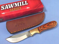 """SAWMILL SERIES SM0025 SKINNER widebelly full tang file knife 7 3/8"""" overall NEW!"""