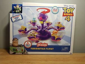 Toy Story 4 Minis Terrorantulus Playset Carnival with Buzz Lightyear Mini Figure