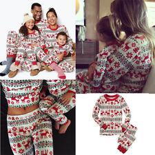 Xmas Kids Adult Family Matching Christmas Pajamas Sleepwear Nightwear Pyjamas AU