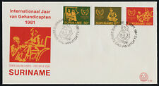 Surinam 580-2 MNH International Year of the Disabled