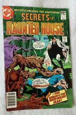 DC Comics Secrets of Haunted House No 32 Jan 1981