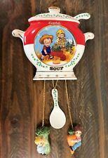 Campbell's Soup Kids Porcelain Wall Clock Collectible, Danbury Mint, Works Fine!