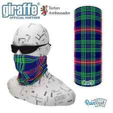 Heritage Scottish Tartan Multifunctional Headwear Neckwarmer Snood Bandana Tube