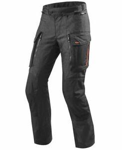 REV'IT! Sand 3 Mens Motorcycle Pants Black, 4 seasons - Size Large