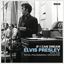 If I Can Dream [LP] by Elvis Presley/Royal Philharmonic Orchestra (Vinyl,...