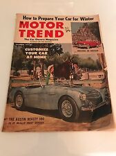 Motor Trend November 1953 Austin Healy 100, Driving in Mexico