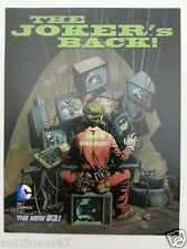 DC Comics THE NEW 52 The Joker's Back Death of the Family lobby card