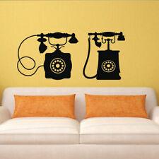 Wall Decal Sticker Vinyl Decor Phone Retro Tube Room Bell Conversation M968