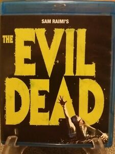 The Evil Dead Blu Ray Anchor Bay Region A 1981 Horror  Bruce CampbellSam Raimi