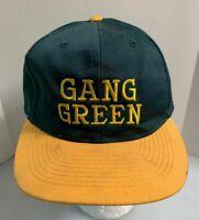 Green Bay Packers NFL Gang Green Ball Cap Snapback Hat Men OSFA Green Yellow